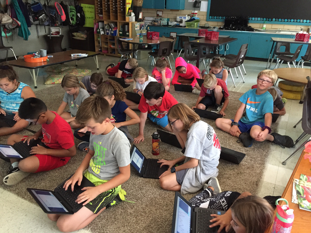 Using Nearpod to learn about friction.