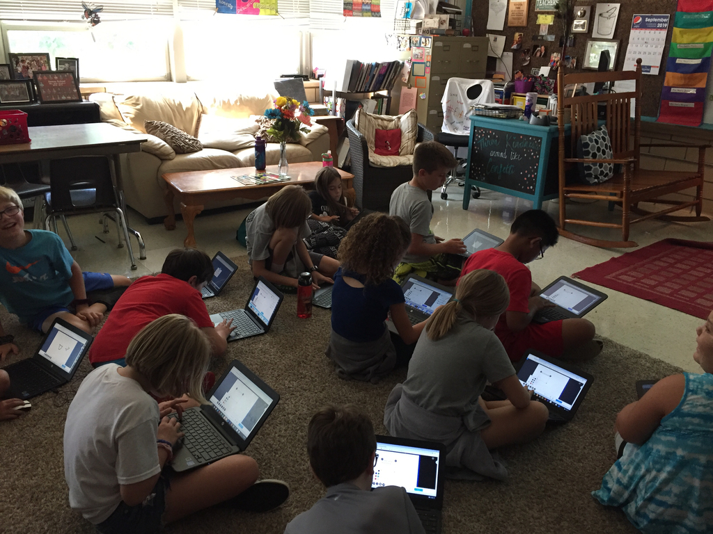 Friction lesson using Nearpod.