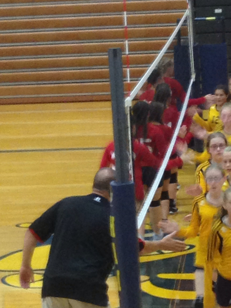 7th grade girls volleyball.