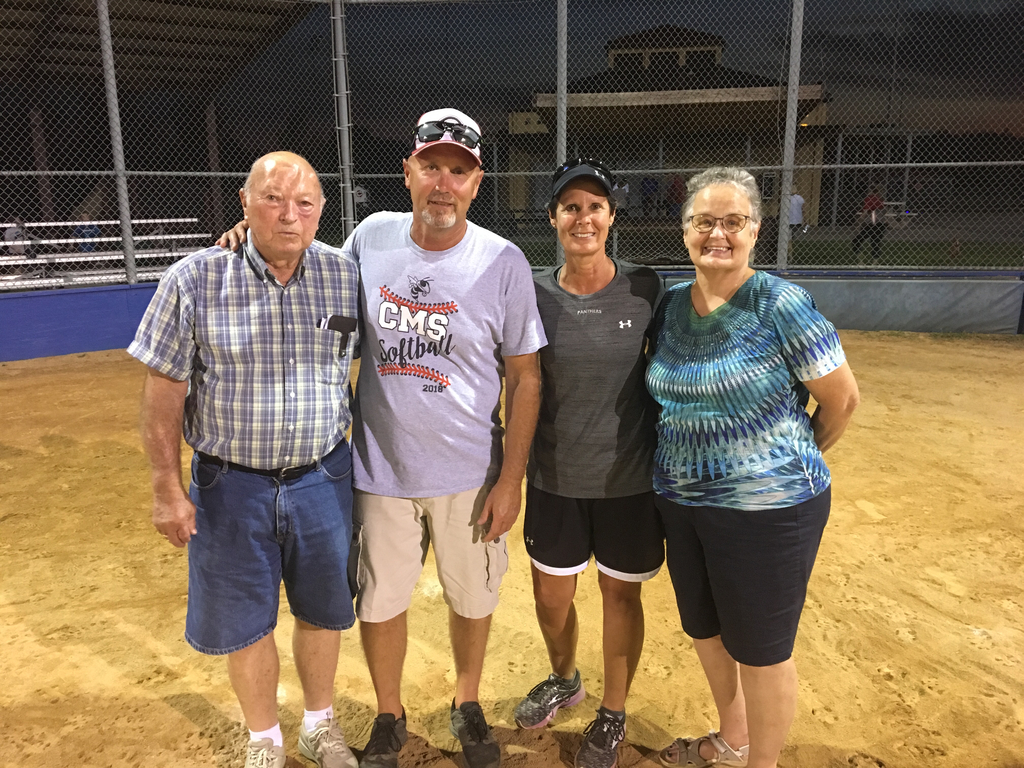Bub and Sis coaches with mom and dad