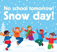 No School due to weather Monday, December 16, 2019