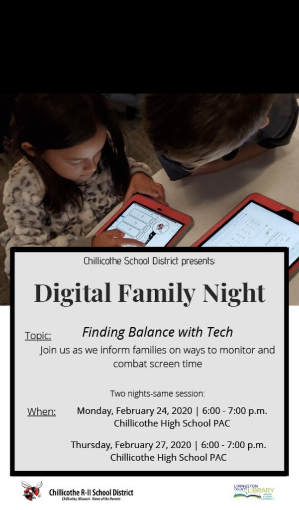 Join us for our first Digital Famiily Night!